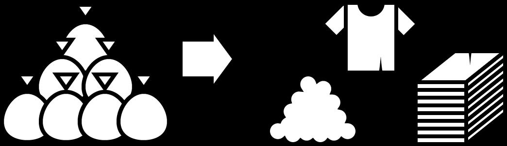 リサイクル処理のイラスト